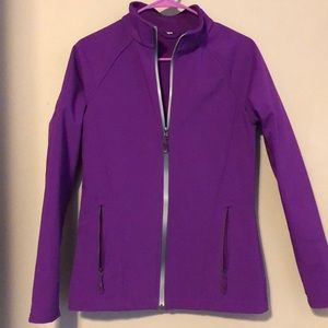 Jackets & Blazers - Purple shell jacket